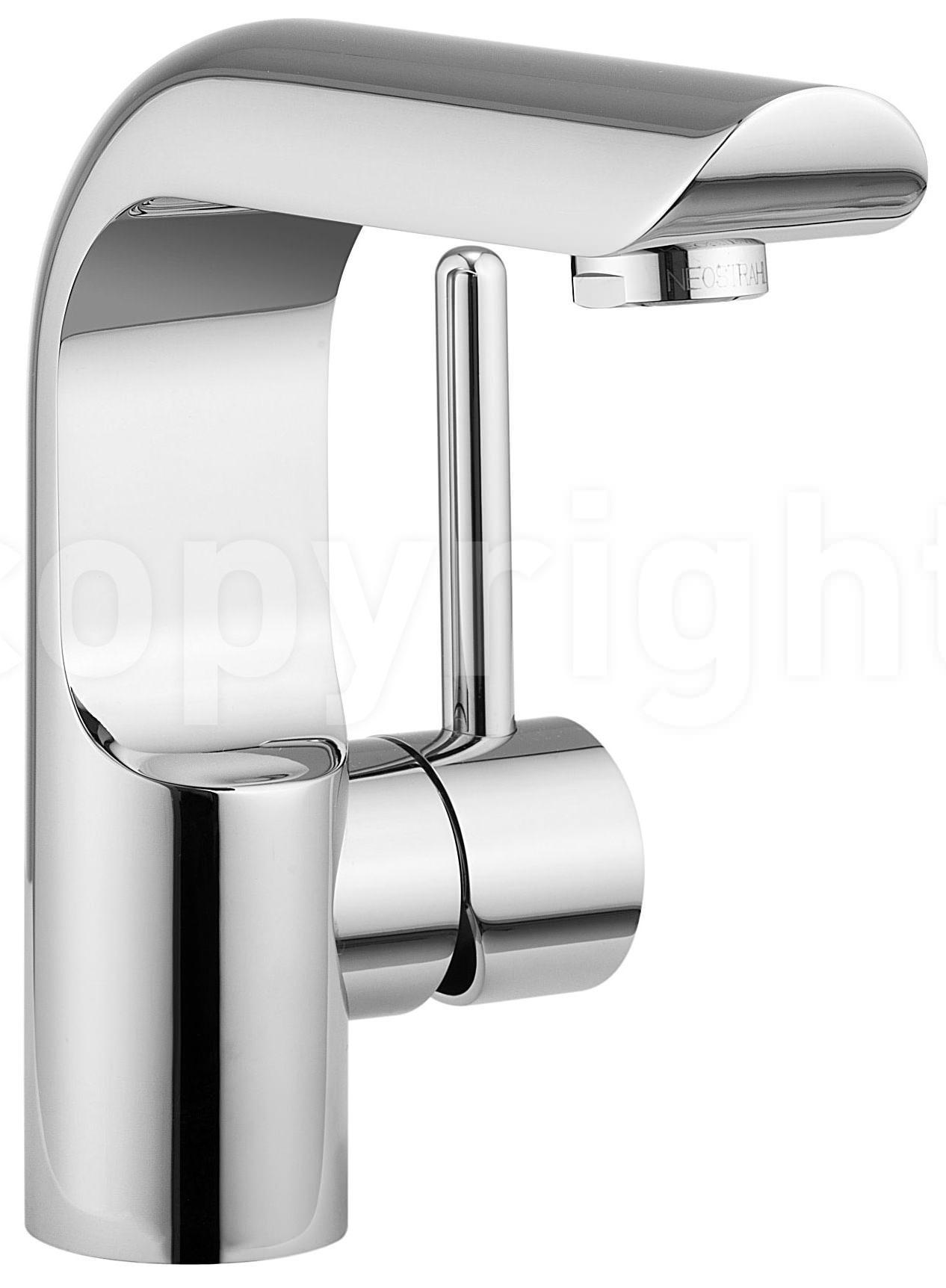 crosswater elite monobloc basin mixer tap chrome el110dnc. Black Bedroom Furniture Sets. Home Design Ideas