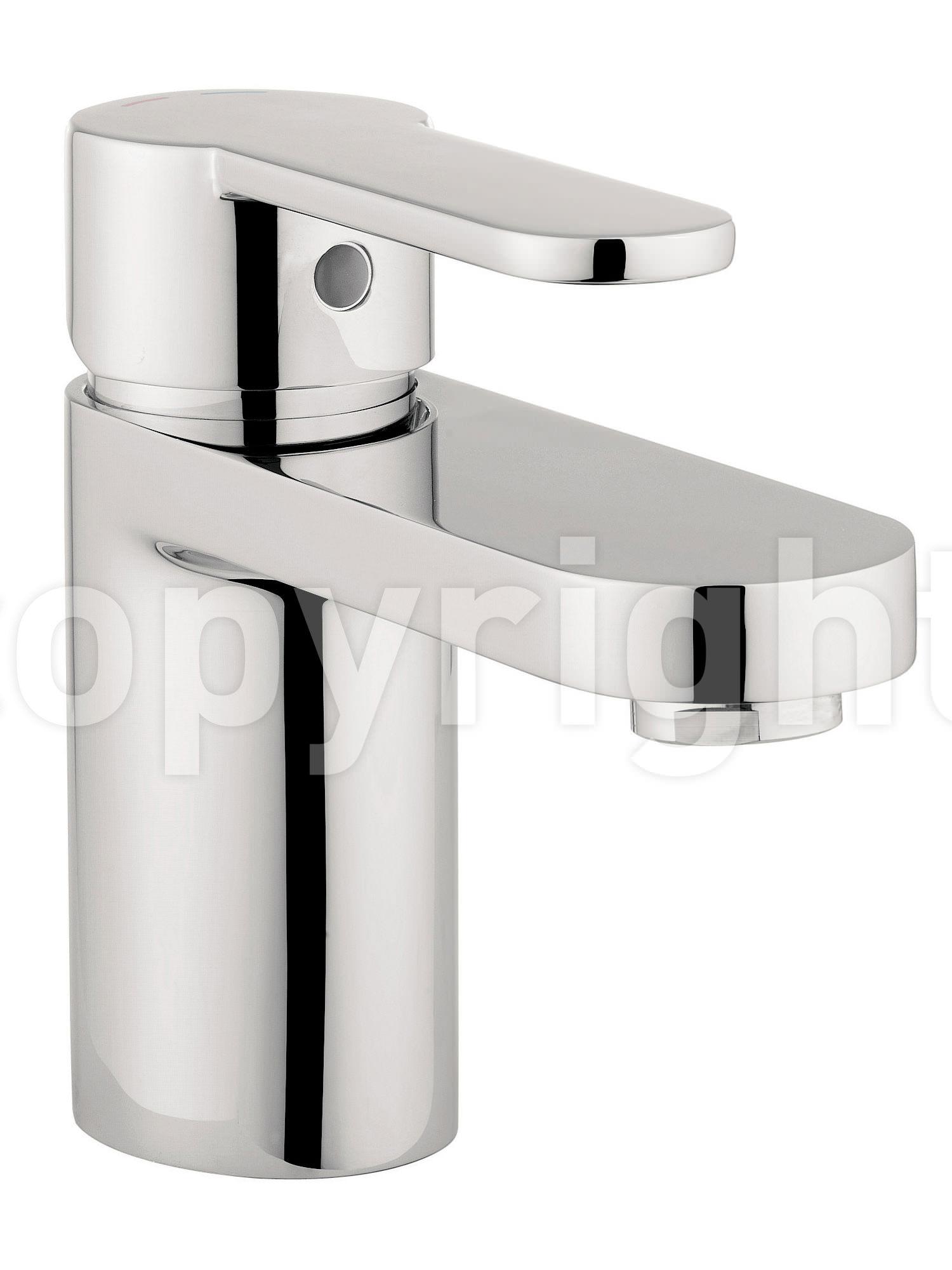 Crosswater Central Monobloc Basin Mixer Tap Chrome Ce110dnc