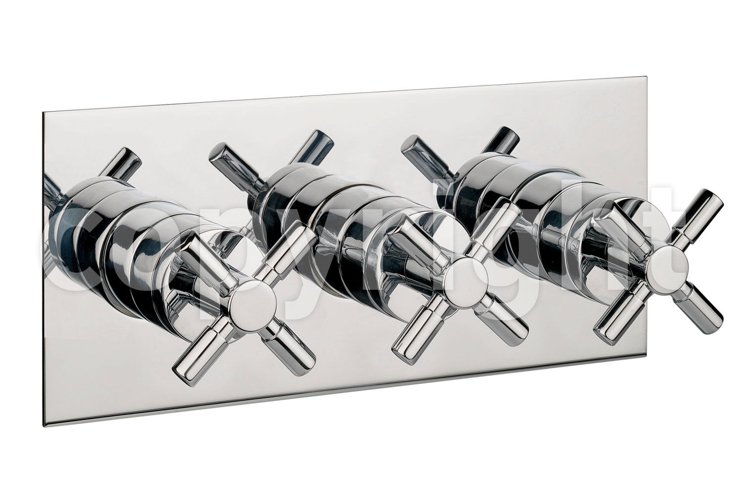 Crosswater Totti Thermostatic Shower Valve 3 Way Diverter Landscape