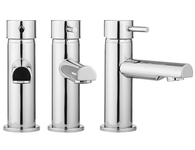 Crosswater Kai Lever Monobloc Basin Mixer Tap With Pop Up