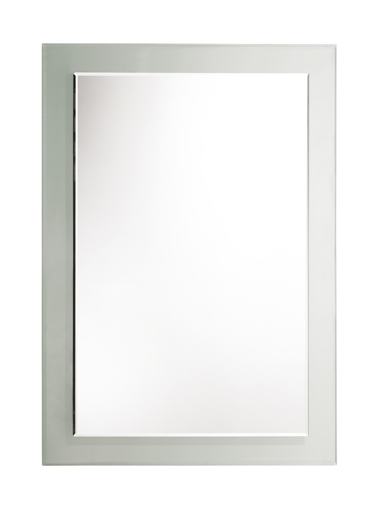 Large rectangular wall mirrors for bathroom - Roper Rhodes Bevelled Level Glass Mirror With Clear Frame