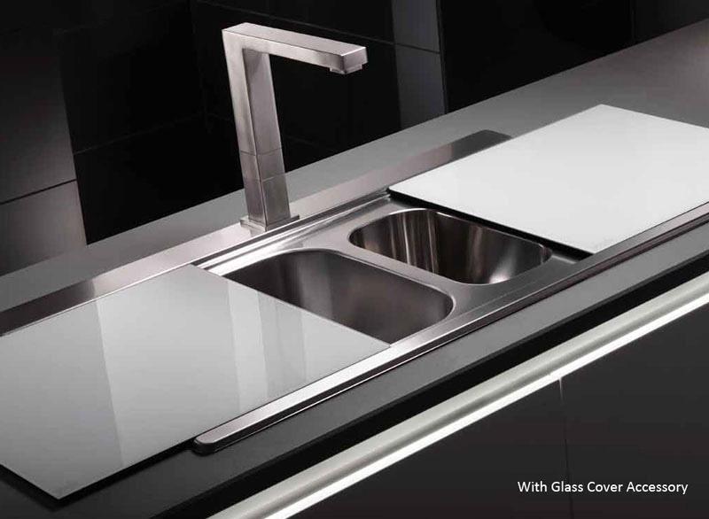 Abode Maxim 1.5 Bowl Kitchen Sink   AW5035