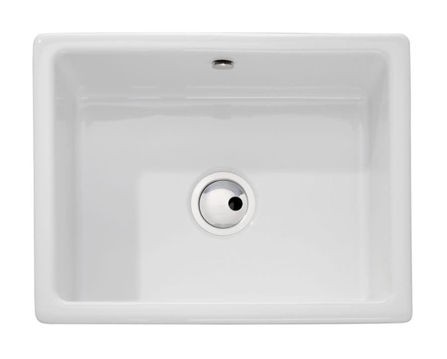 Abode Matrix CR25 1 0 Bowl Ceramic Kitchen Sink