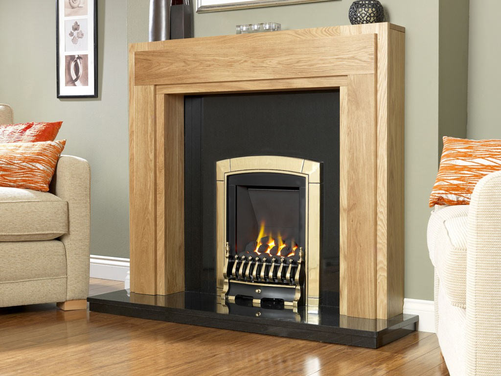 flavel caress slide control slimline inset gas fire brass fnvcbcsn