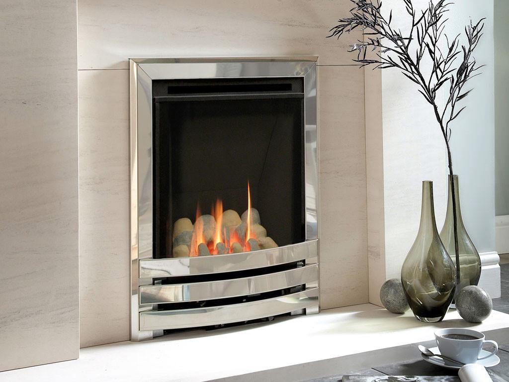 Flavel Windsor Manual Control Contemporary HE Gas Fire ...