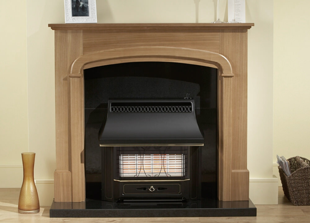 Valor Black Beauty Radiant Top Control Outset Gas Fire