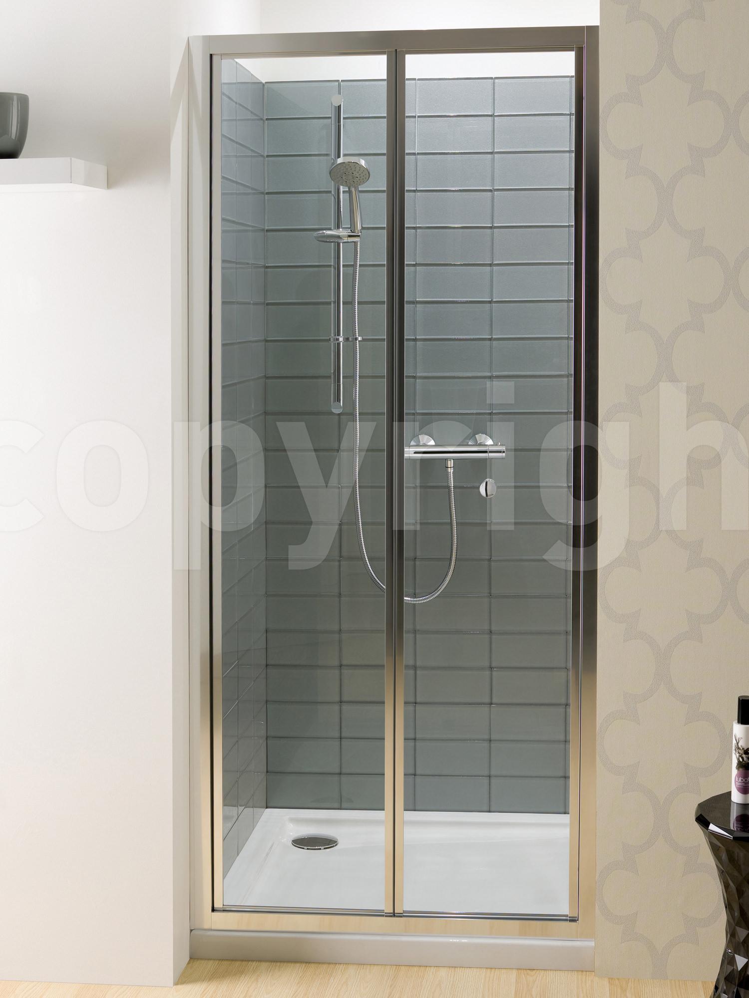 Simpsons Edge Bi Fold Shower Door 900mm