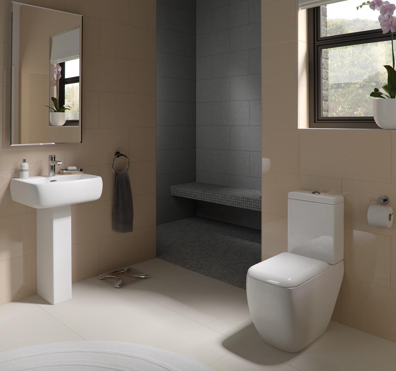 Rak bathroom suites -  Additional Image For Qs V36240 Rak Ceramics Met52bas1