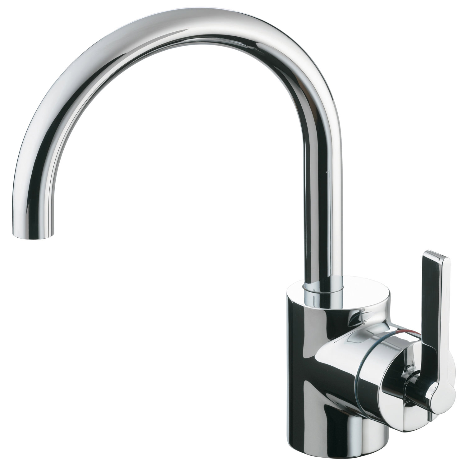 Ideal Standard Silver Single Lever Basin Mixer Tap Without Waste ...