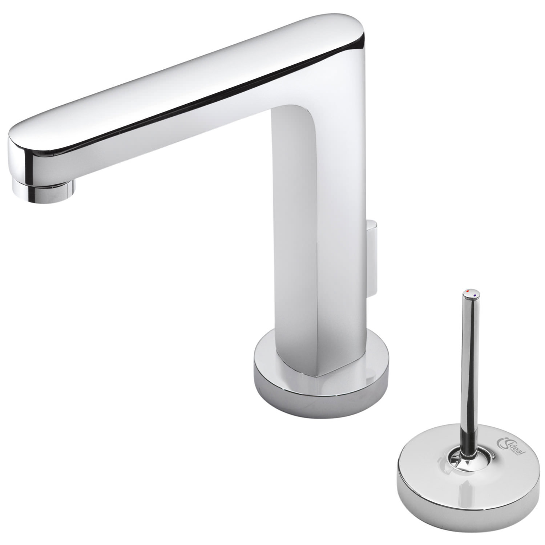 ideal standard simplyu rectangular spout basin mixer tap. Black Bedroom Furniture Sets. Home Design Ideas