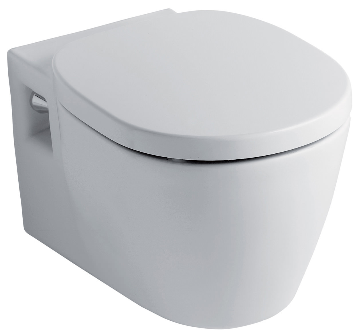 Ideal standard concept wall mounted wc pan 545mm e785001 for Lunette wc ideal standard