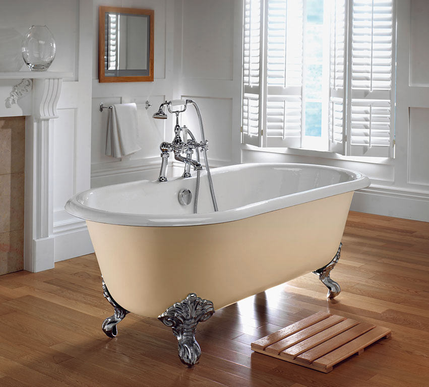 Imperial Bentley Cast Iron 1700mm Bath With Cast Iron Feet