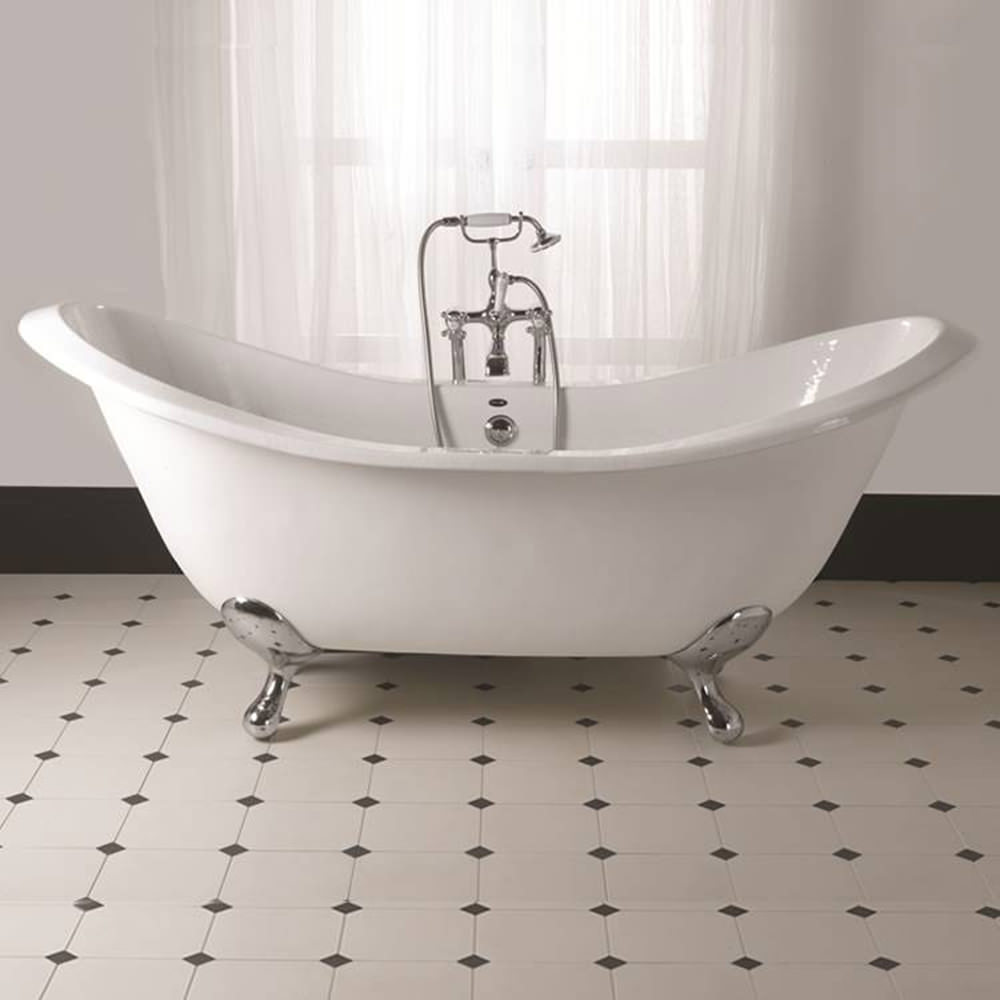 Imperial Sheraton 1800mm Slipper Bath With Ball G And H