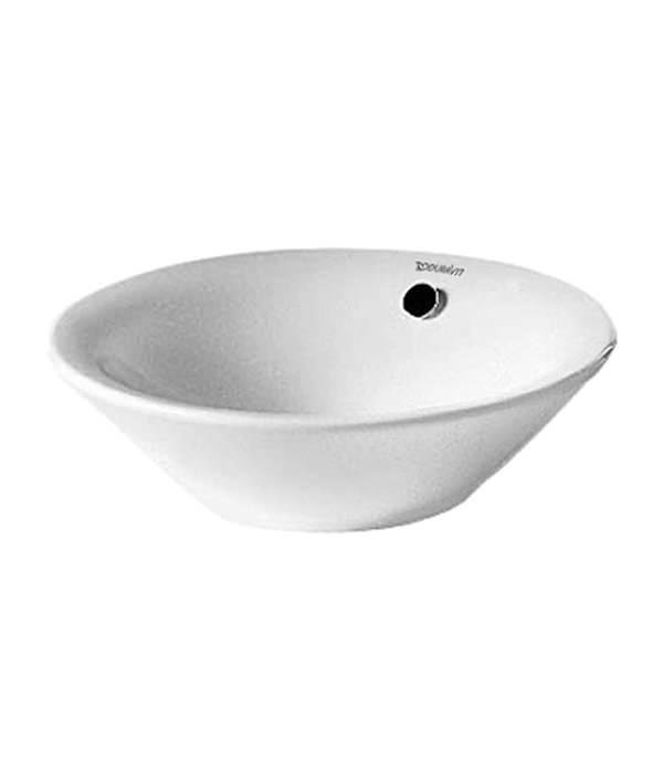 Duravit starck 1 530mm washbowl with overflow 0408530000