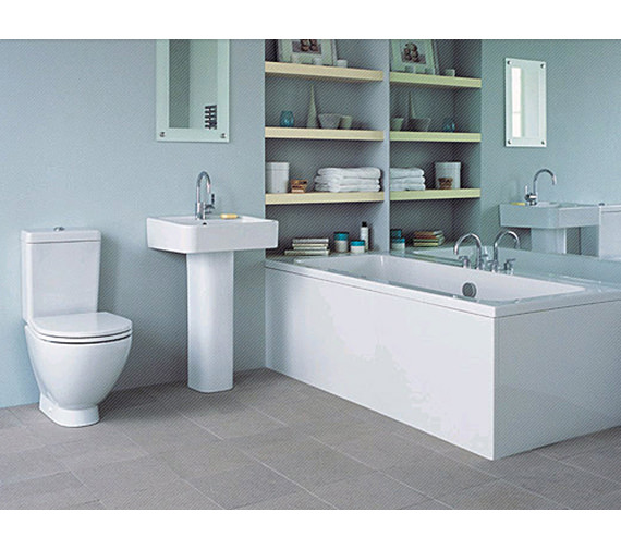 Delicieux Ideal Standard White Bathroom Suite