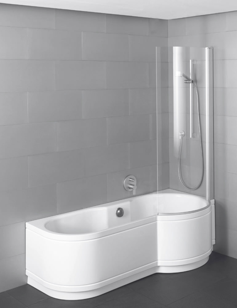 Bette cora ronda comfort shower bath 1600 x 900mm bette for Bath bathroom