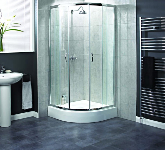 Aqualux Shine Quadrant Shower Enclosure 900 X 900mm