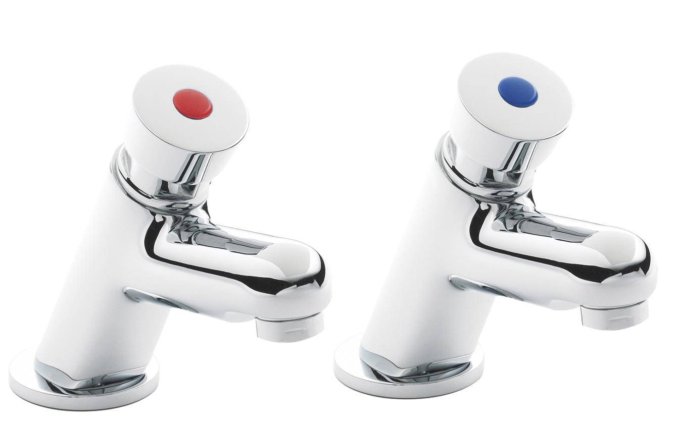 Premier Bathroom Water Saving Non Concussive Pair Of Basin
