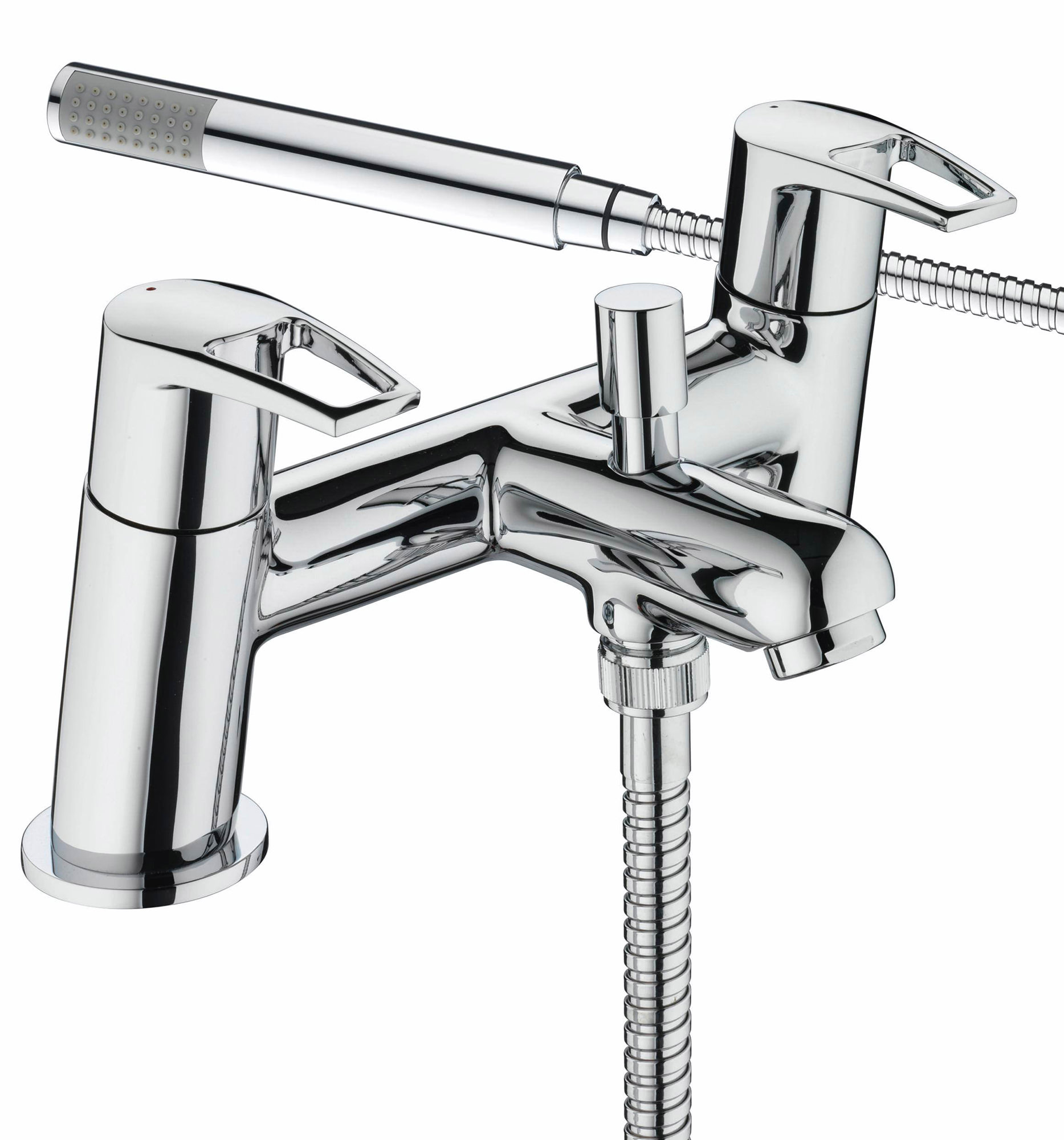 bristan smile chrome bath shower mixer tap with kit sm bsm c. Black Bedroom Furniture Sets. Home Design Ideas