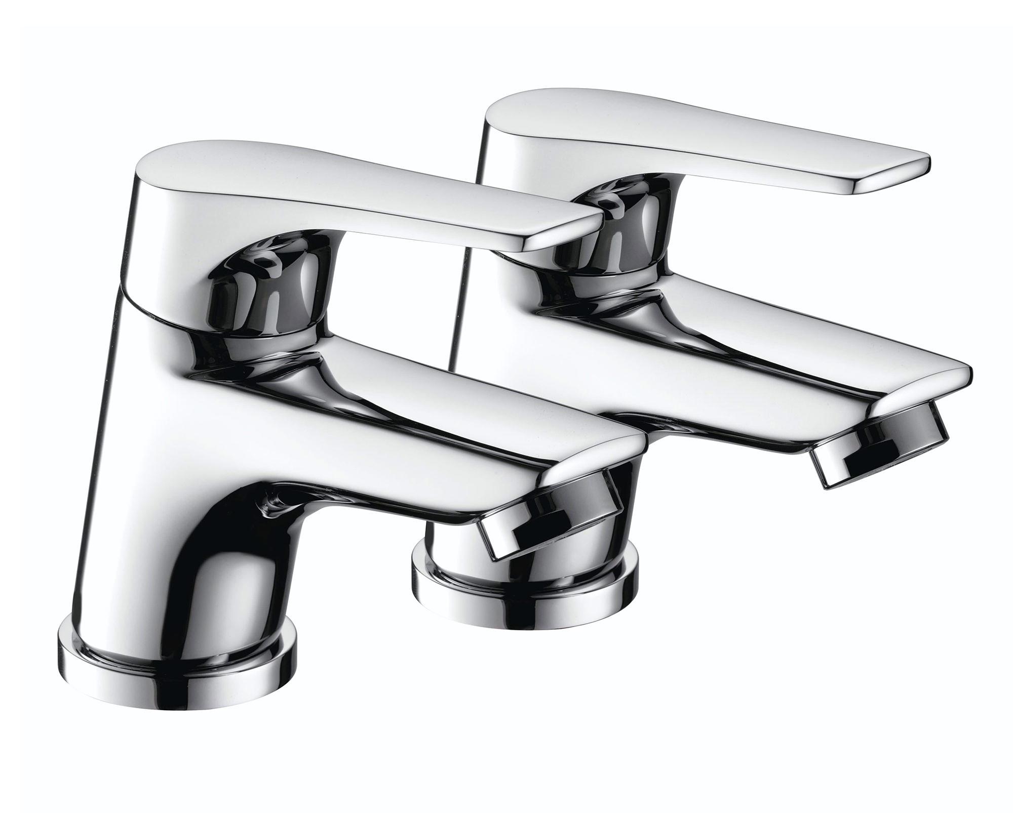 Chrome Bristan Kitchen Taps: Bristan Vantage Chrome Half Inch Basin Taps