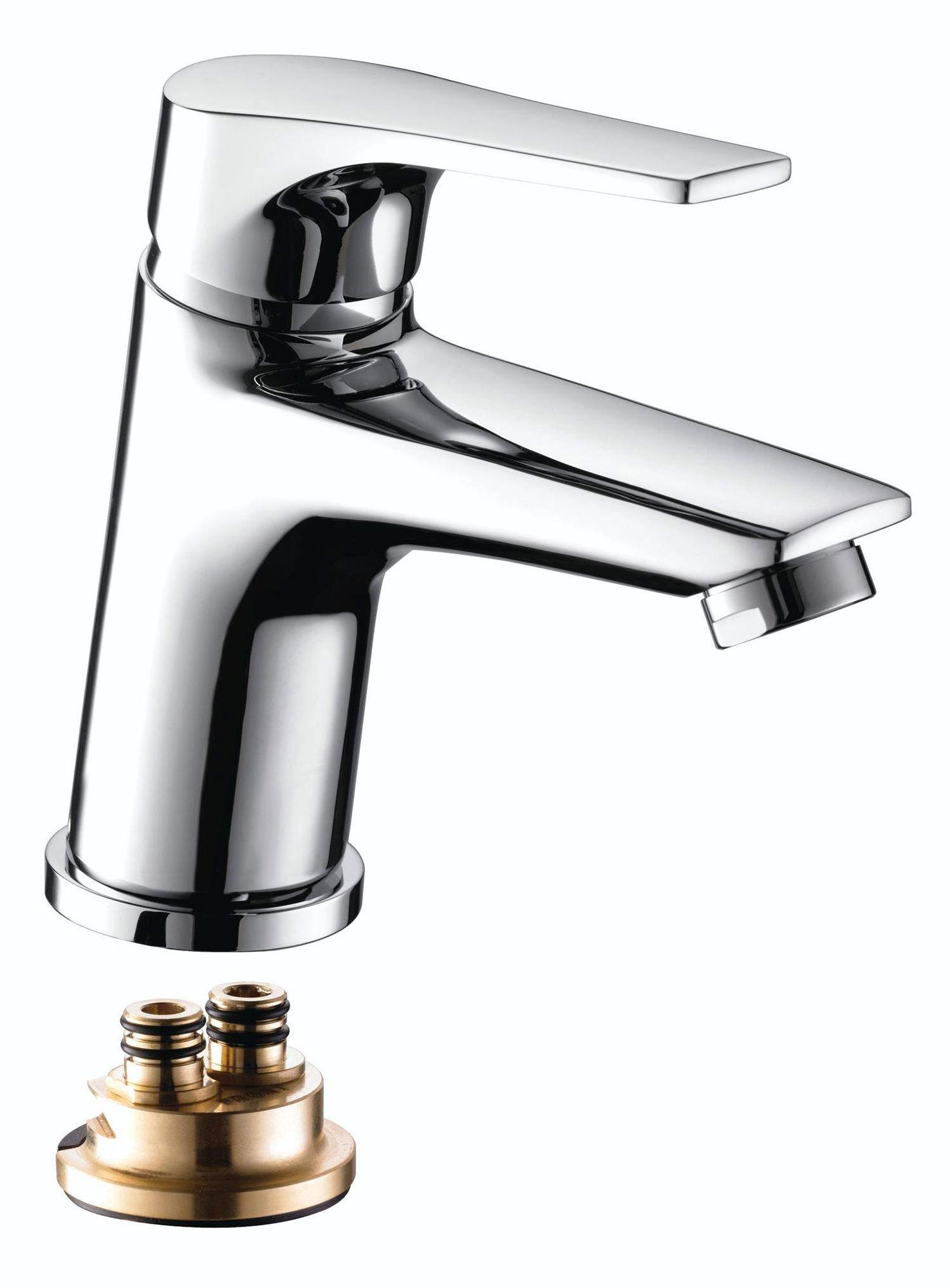 Bath Taps: Bristan Vantage Chrome Plated Basin Mixer Tap