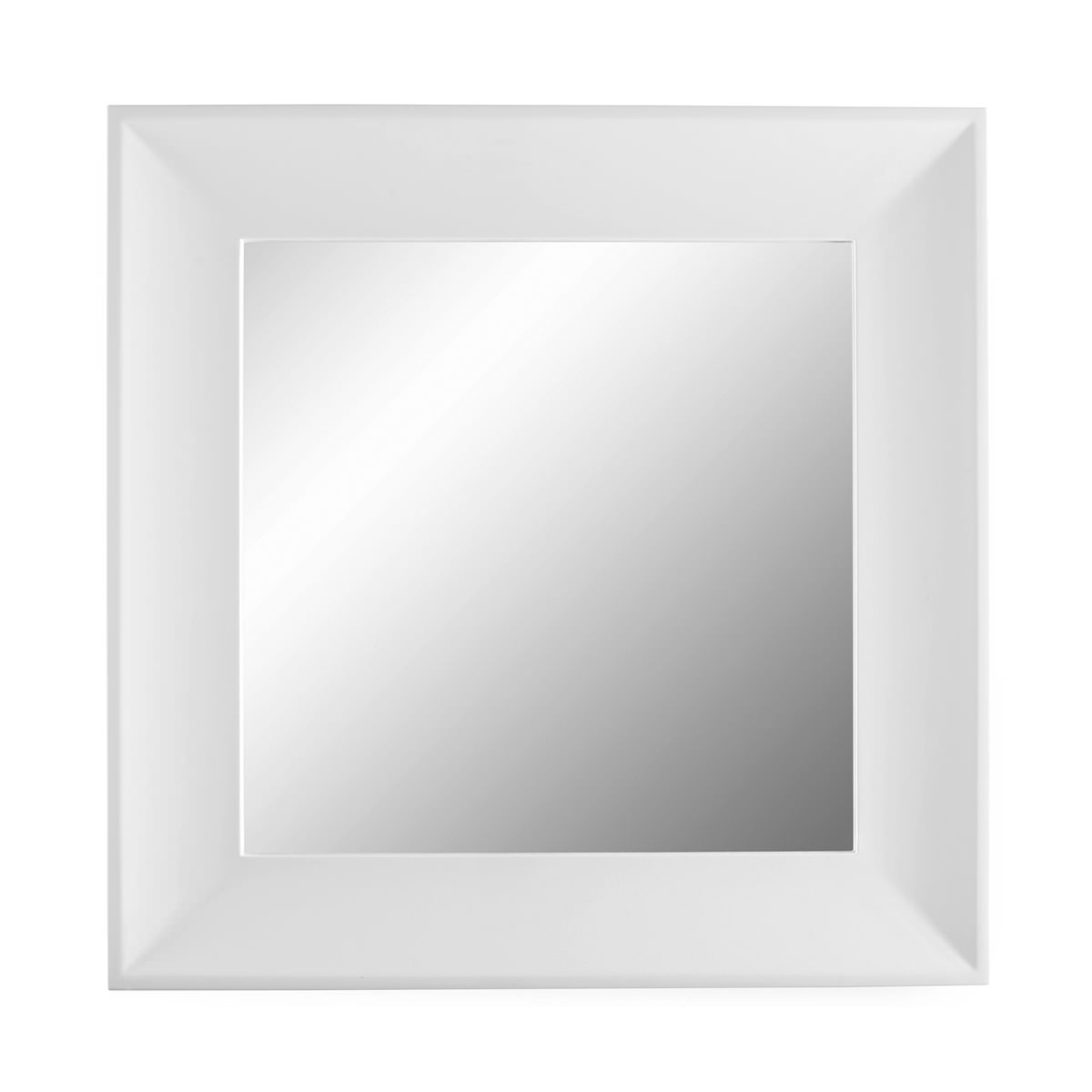 Roper rhodes provence square white mirror 700 x 700mm pro7mw for Square mirror