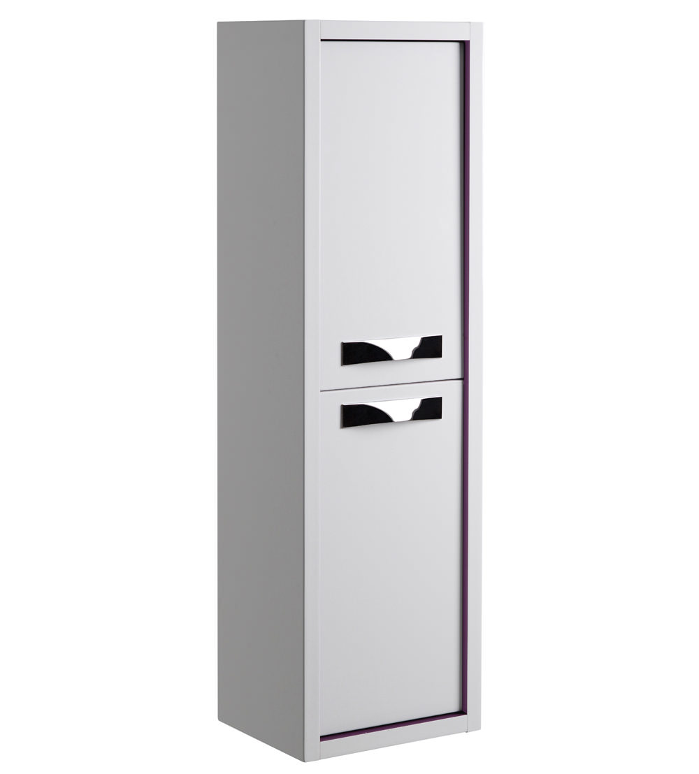Roper rhodes breathe white grey 350mm tall storage unit - White tall bathroom storage unit ...