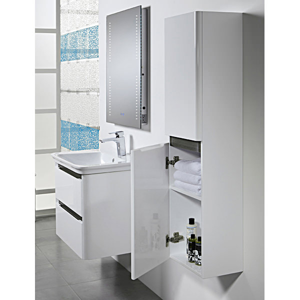 Tavistock equate 300mm white tall storage unit eq3cw for 300mm tall kitchen unit
