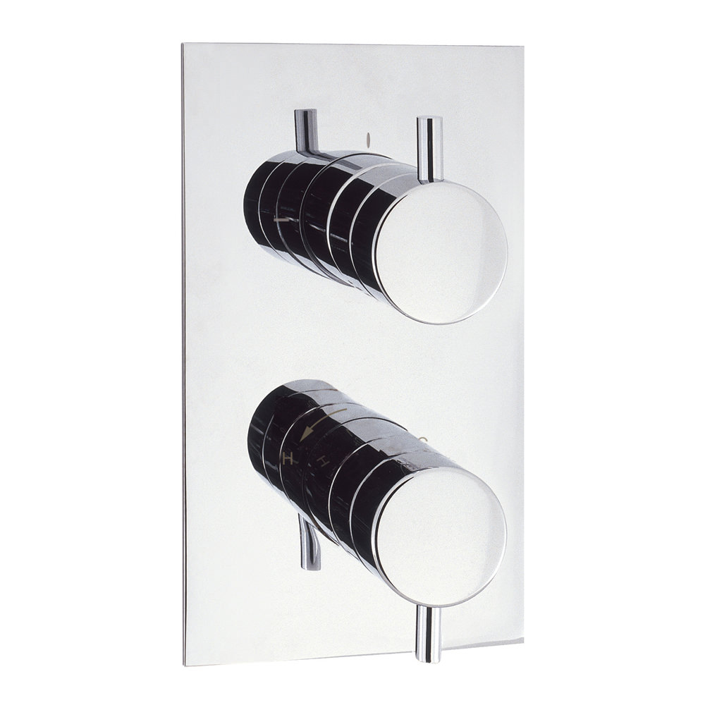 Crosswater Kai Lever Recessed Thermostatic Valve With 3 Way Diverter ...