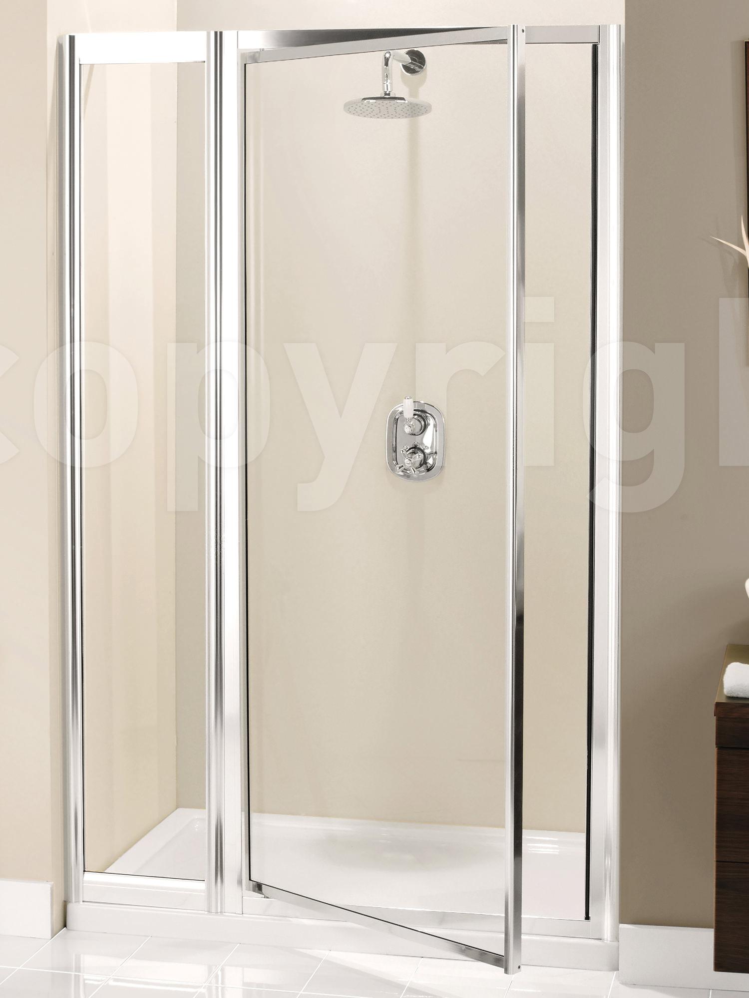 Simpsons supreme pivot door with inline panel 1000mm for 1000mm door