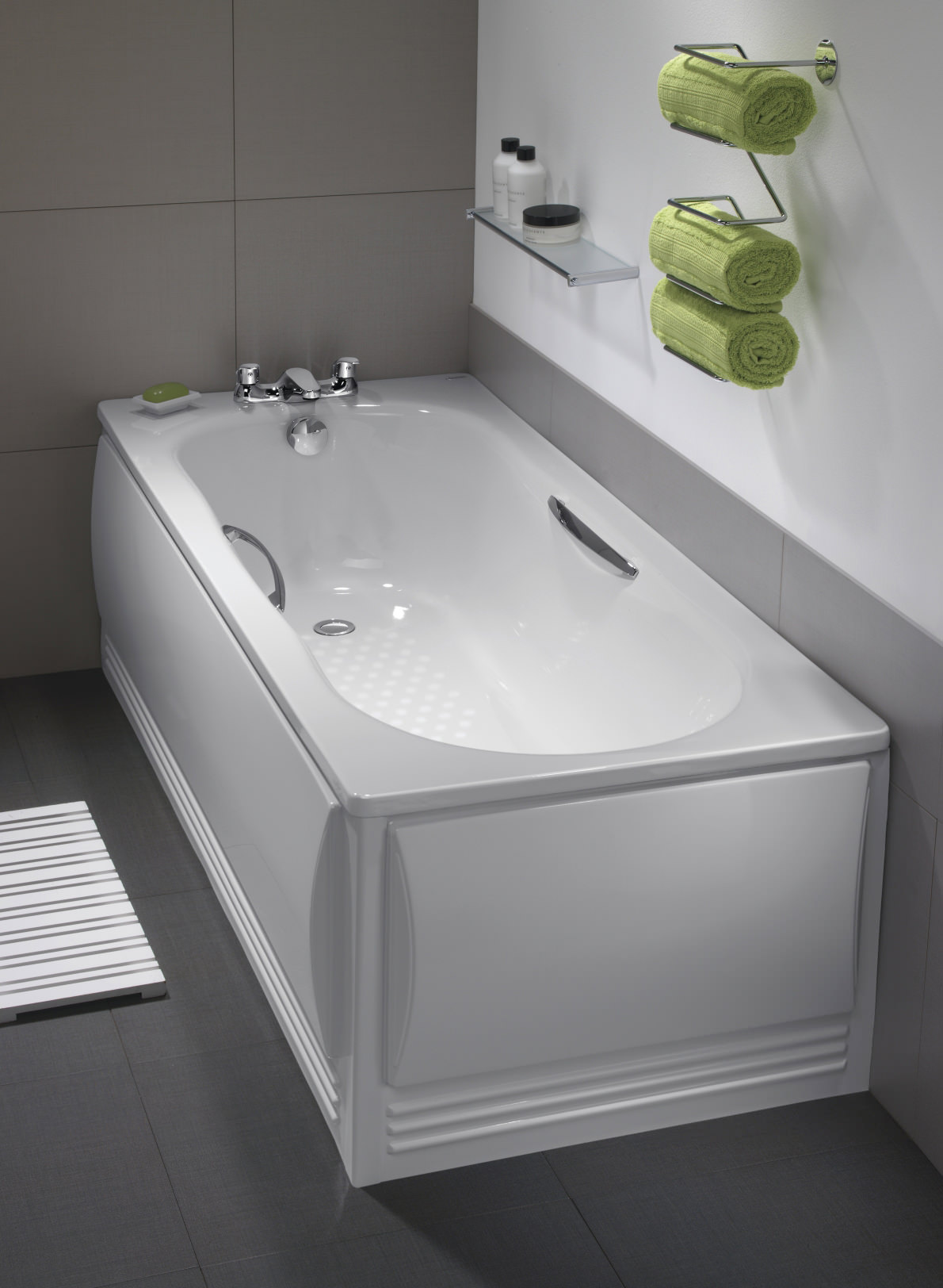 eco grips arley twin bathtub grip ended single with bath