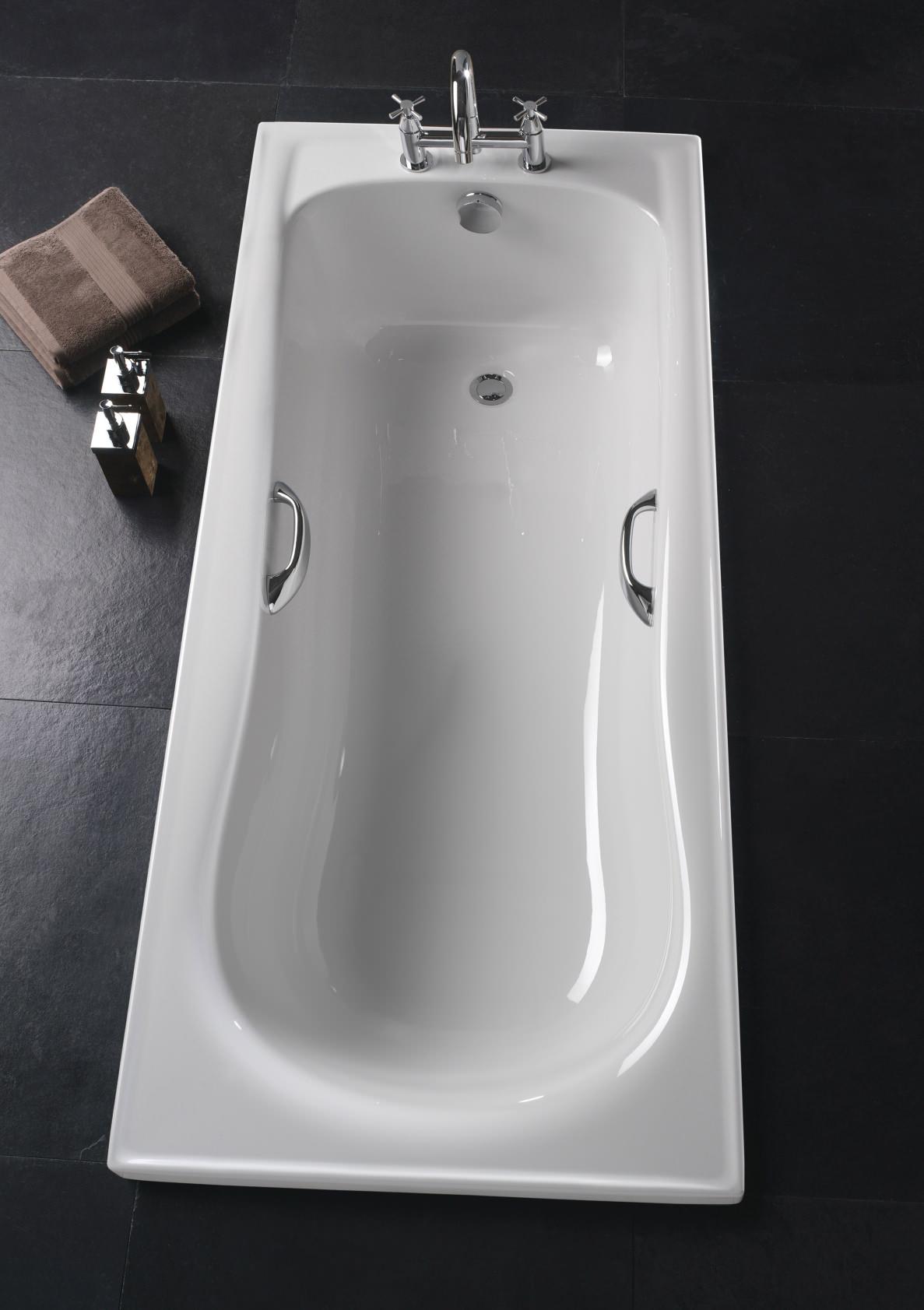 of twyford galerie rectangular acrylic bath 1700 x 700mm gn8550wh