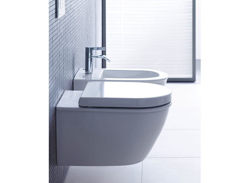 duravit darling new wall mounted compact toilet 485mm - Duravit Toilet