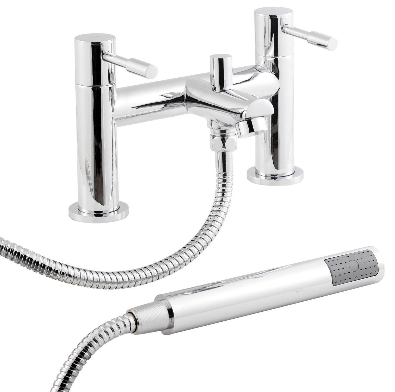 Nuie Premier Series 2 Bath Shower Mixer Tap With Kit