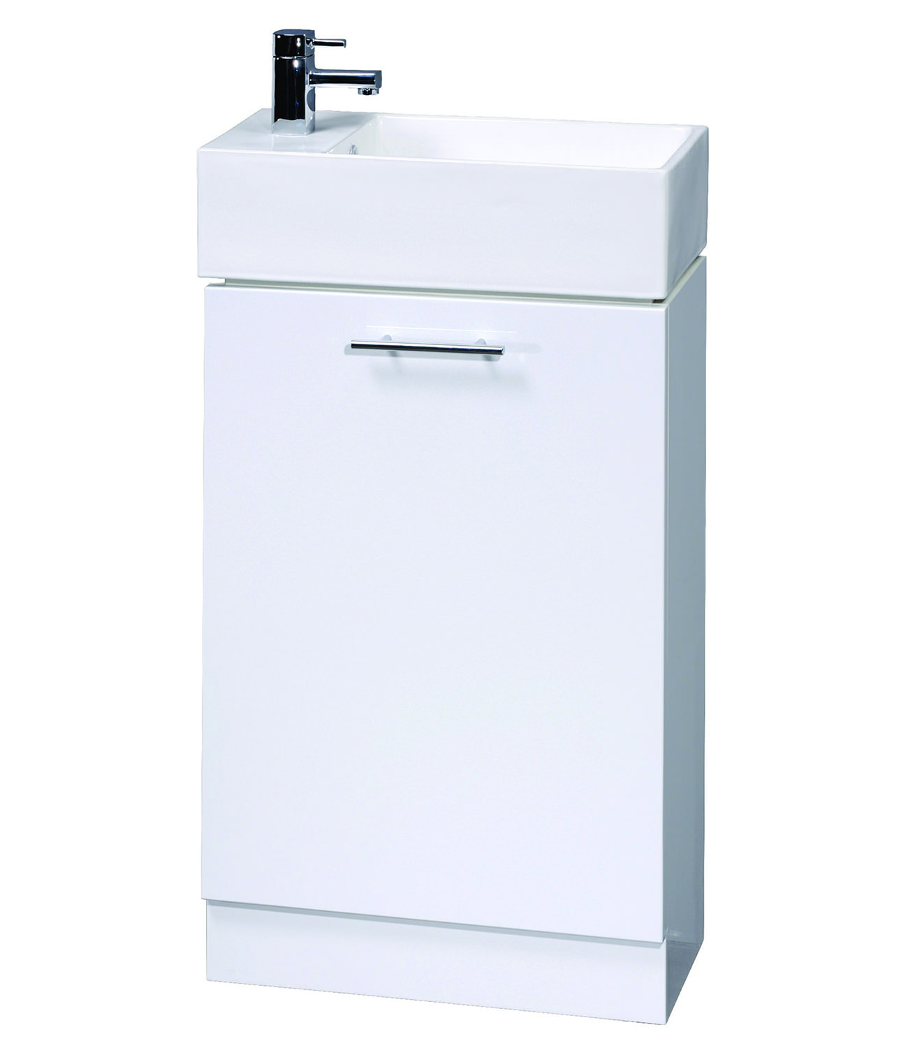 Aqva New England Small Bathroom Vanity Unit 475mm Vty058