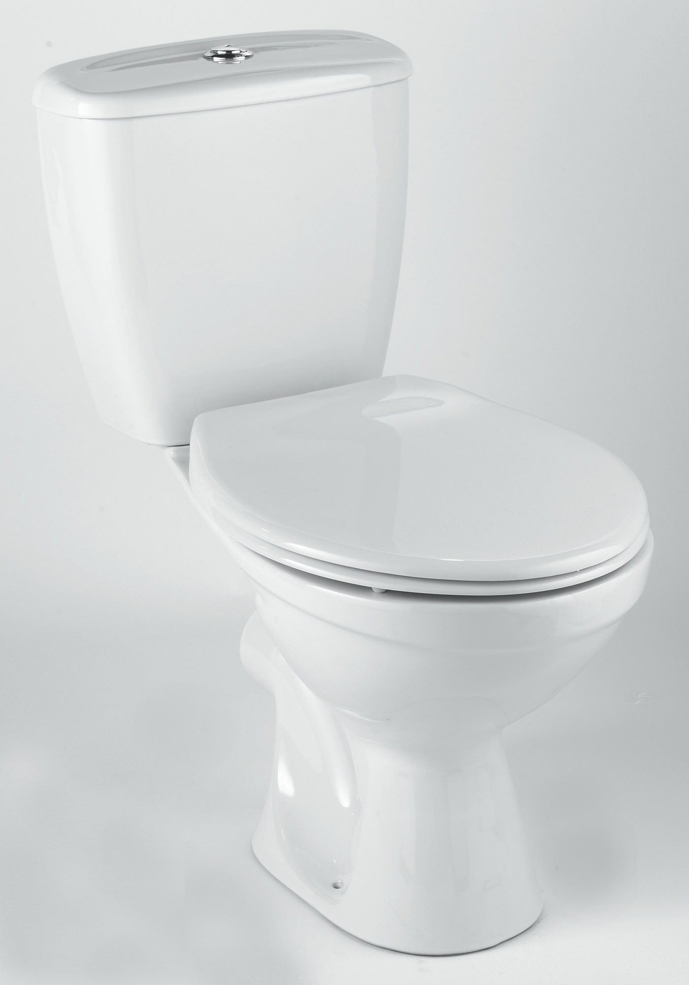 Flat Pack Kitchens >> Twyford Option Close Coupled WC Pan With Dual Flush Cistern 630mm | OT1148WH