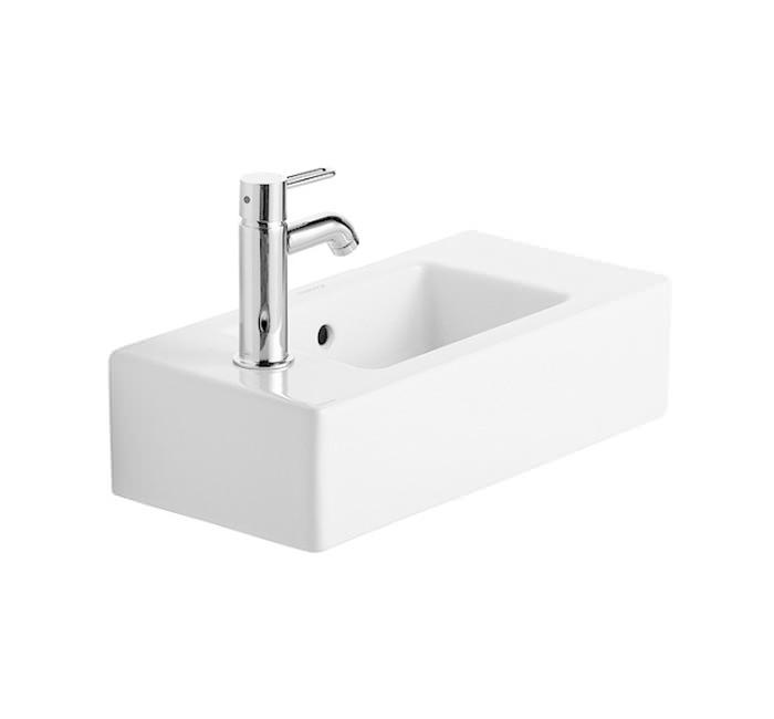 duravit vero white alpin 500 x 250mm handrinse washbasin - Duravit Sink