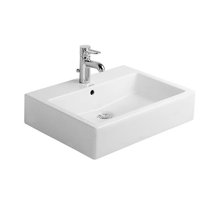 Duravit Vero White 500x470mm Grinded Counter Top Basin