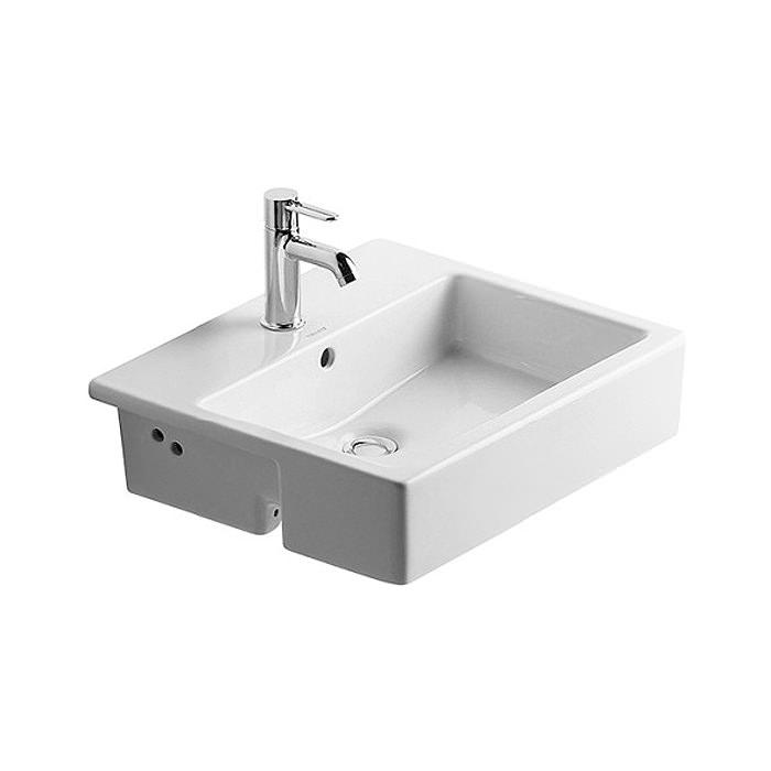 Duravit Vero 550x470mm 1 Tap Hole Semi Recessed Basin