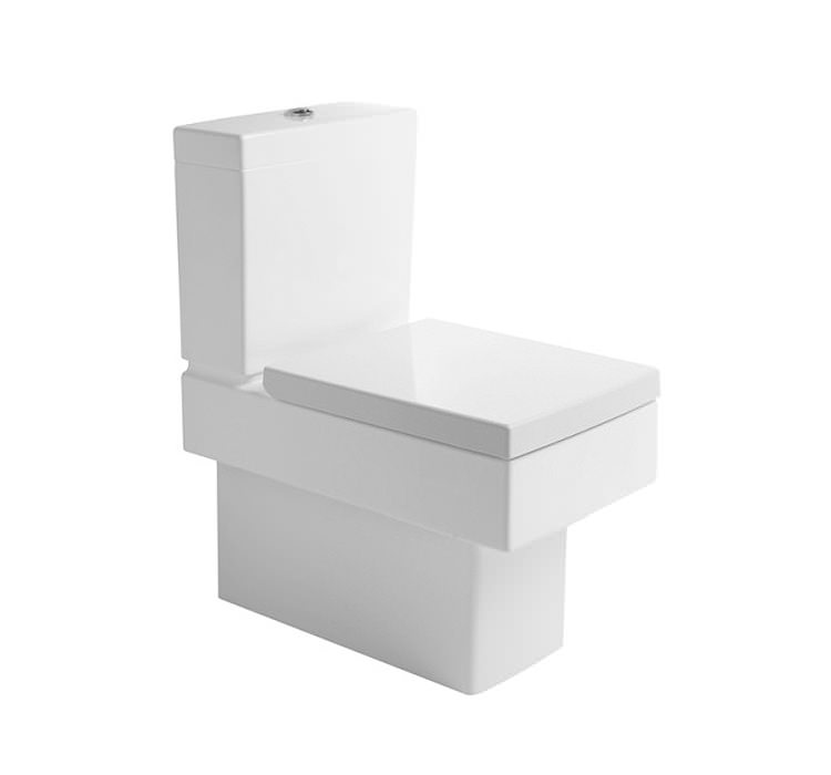 Duravit Vero Close Coupled Toilet And Cistern With Seat