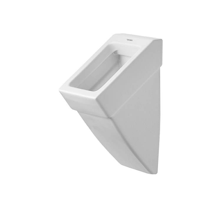 duravit vero white urinal with concealed inlet 295 x 320mm 2800320000. Black Bedroom Furniture Sets. Home Design Ideas