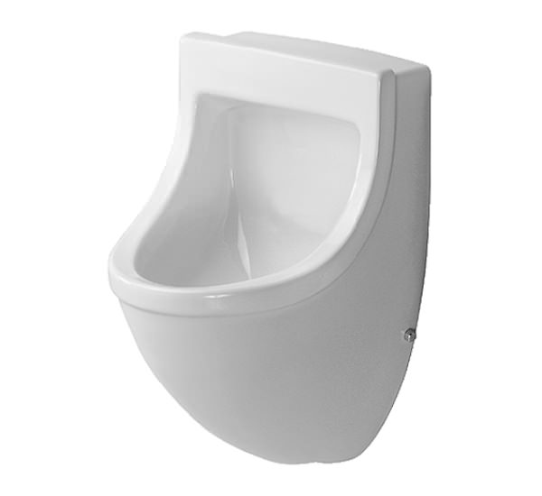 duravit starck 3 urinal with concealed inlet 350 x 350mm