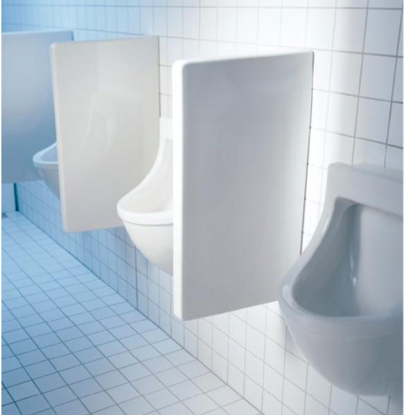 Duravit Starck 3 Ceramic Urinal Partition 705 X 400mm