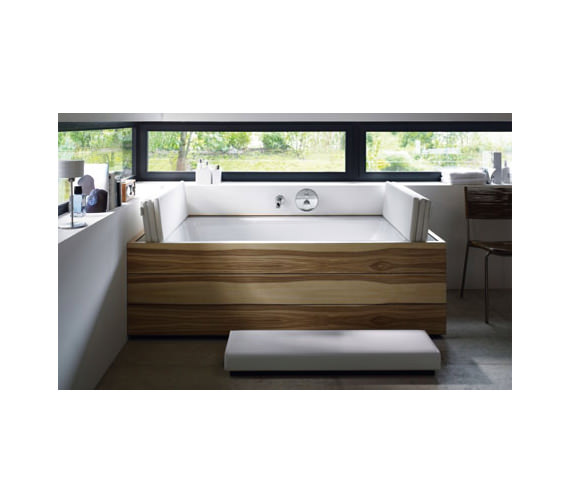 duravit sundeck rectangular bathtub 2000 x 1000 2000 x. Black Bedroom Furniture Sets. Home Design Ideas