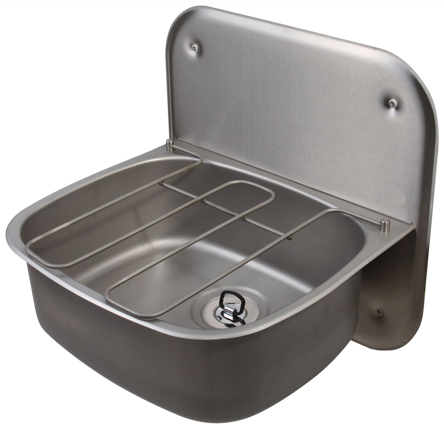 ... sink twyford stainless steel 500 x 400mm wall hung bucket sink with
