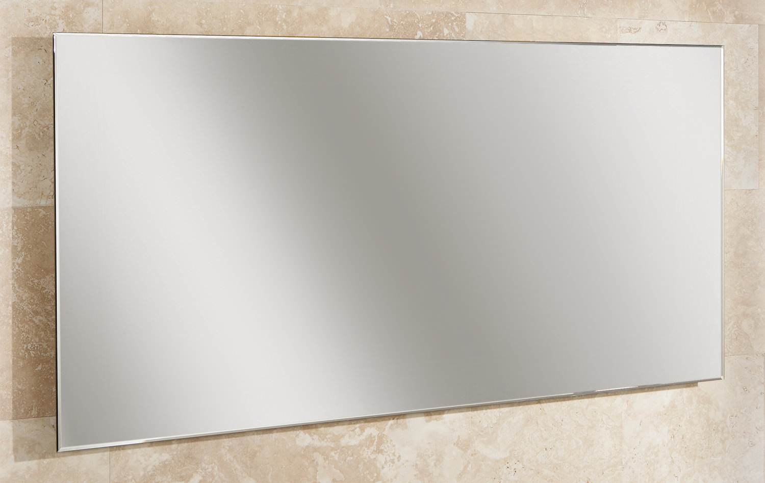 HIB Willow Landscape Bevelled Edge Mirror 1200 x 600mm ...