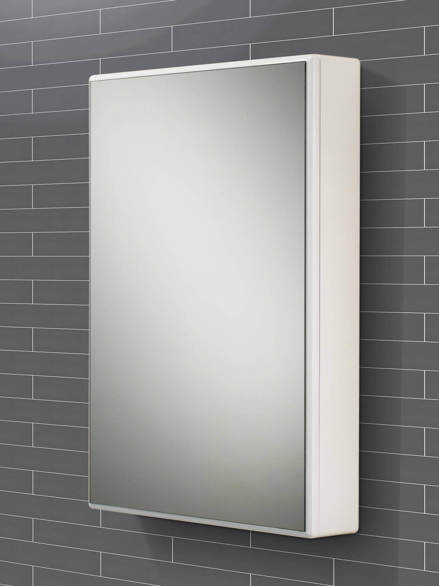 Hib Tulsa Slimline Single Door Mirrored Cabinet X