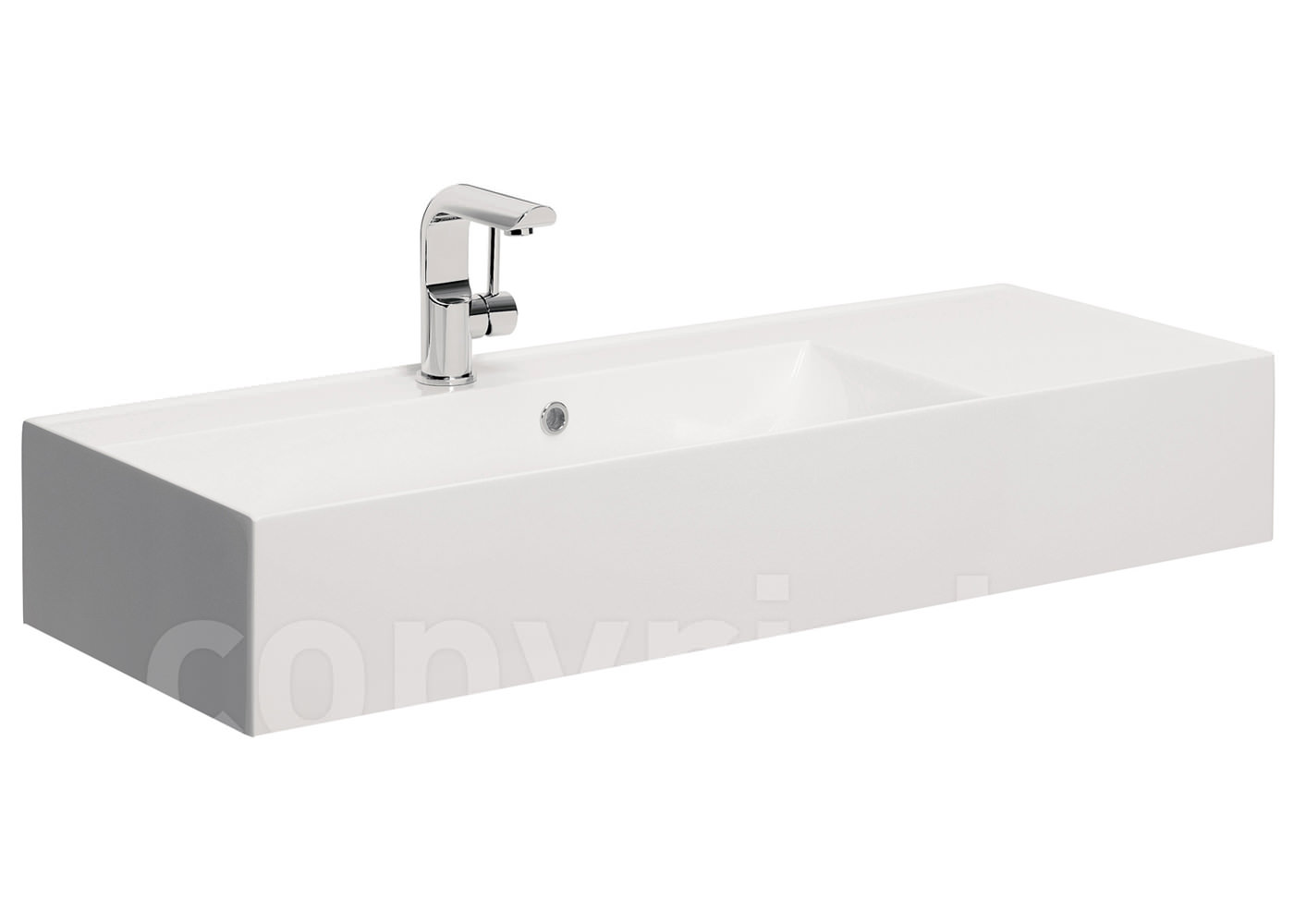 bathroom undermount sinks bauhaus elite white gloss cast mineral marble basin 1000mm 11893