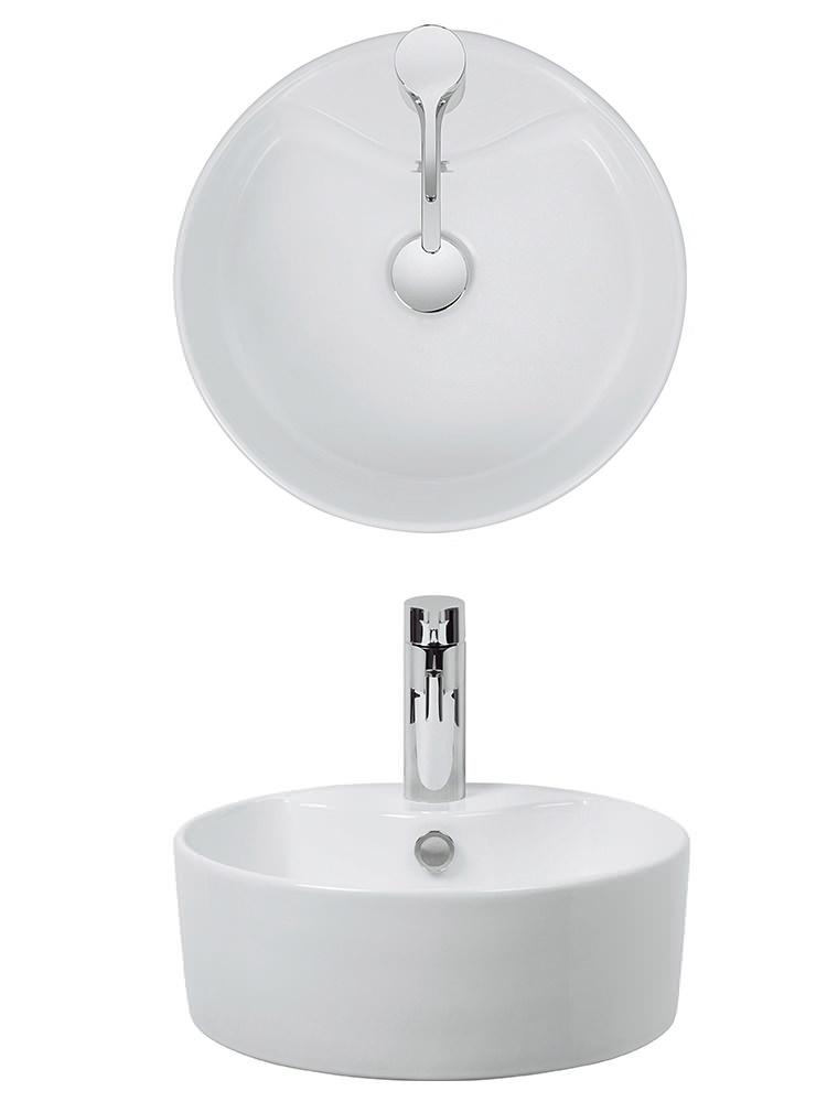 bauhaus vienna 390mm countertop basin ct0040scw. Black Bedroom Furniture Sets. Home Design Ideas