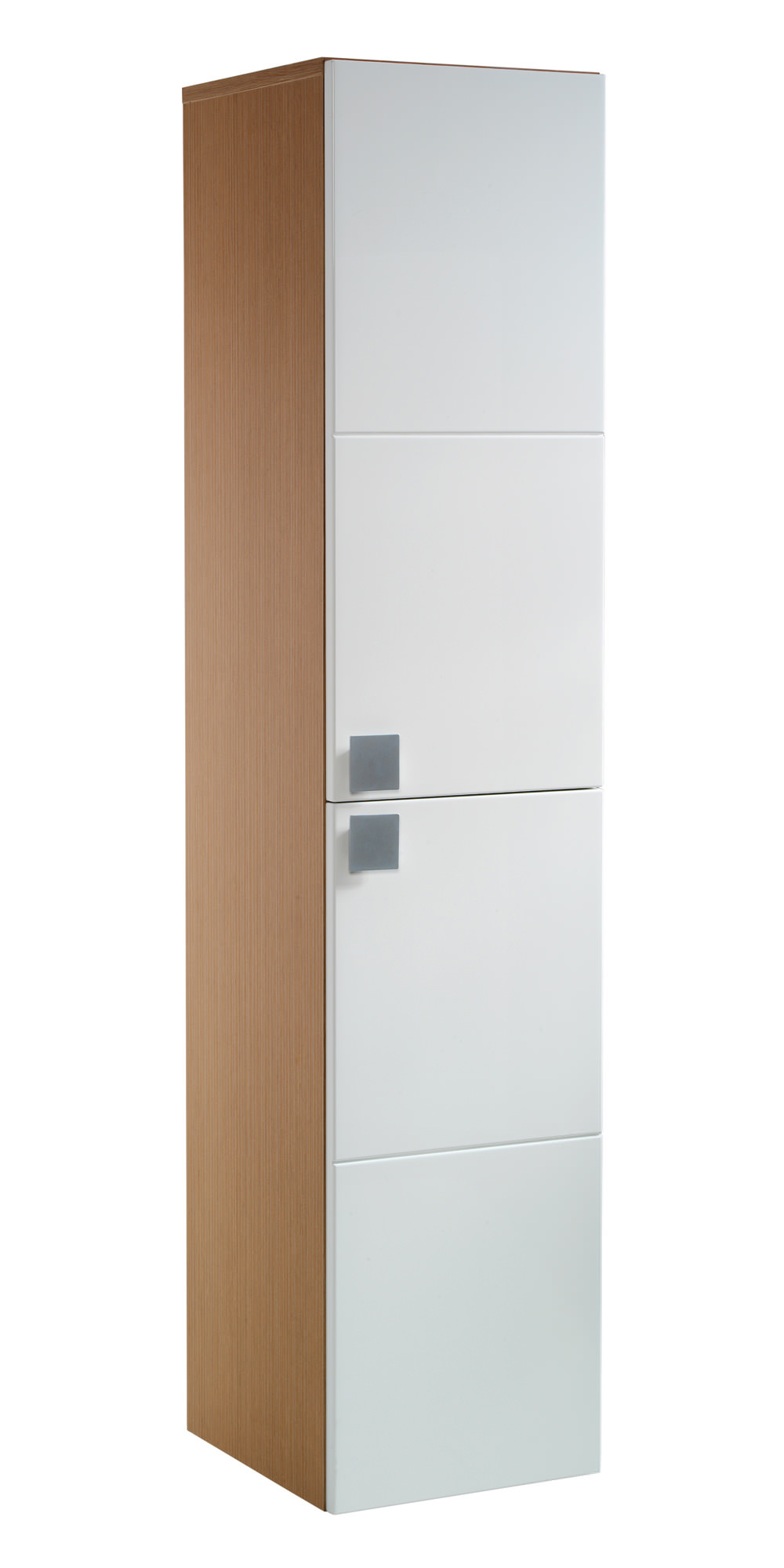 twyford refresh square tall cabinet rs0700wh